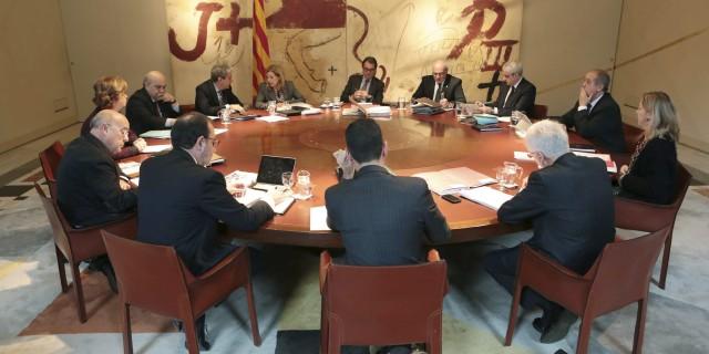 Fotografia reunió Consell Executiu