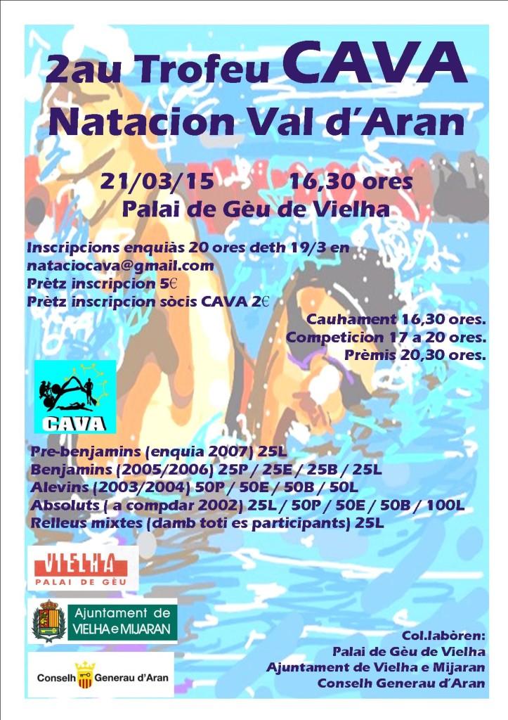 poster 2au Natacion CAVA