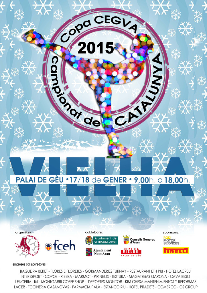 CARTELL CAMPIONAT CATALUNYA 2015- COPA CEGVA