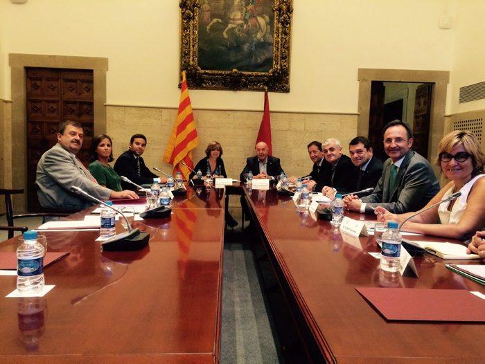 Reunió Comissió Bilateral Generalitat-Aran
