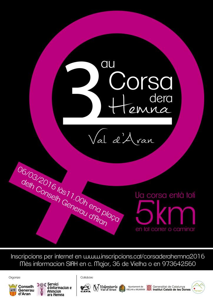 CARTEL 3AU CORSA DERA HEMNA