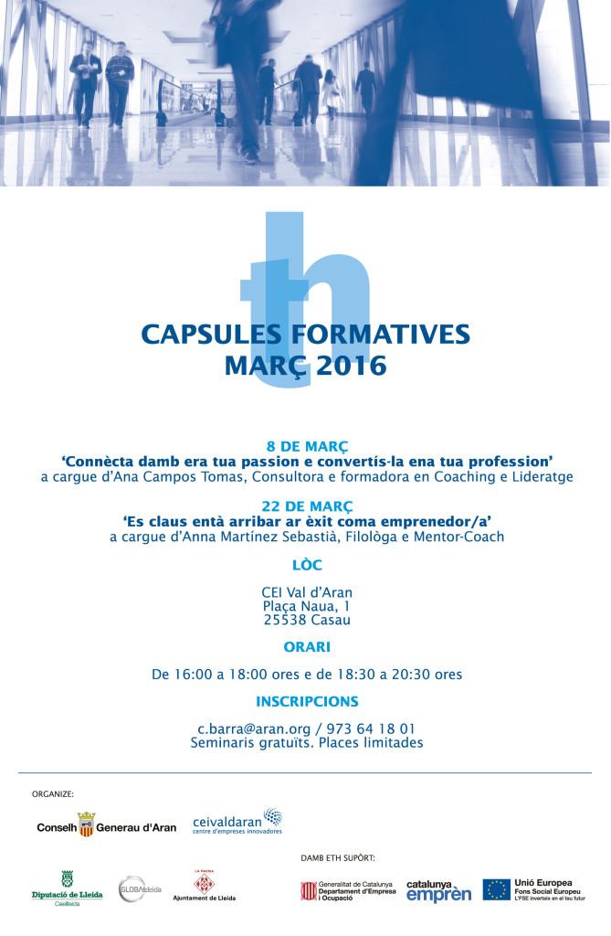 Capsules Formatives Març