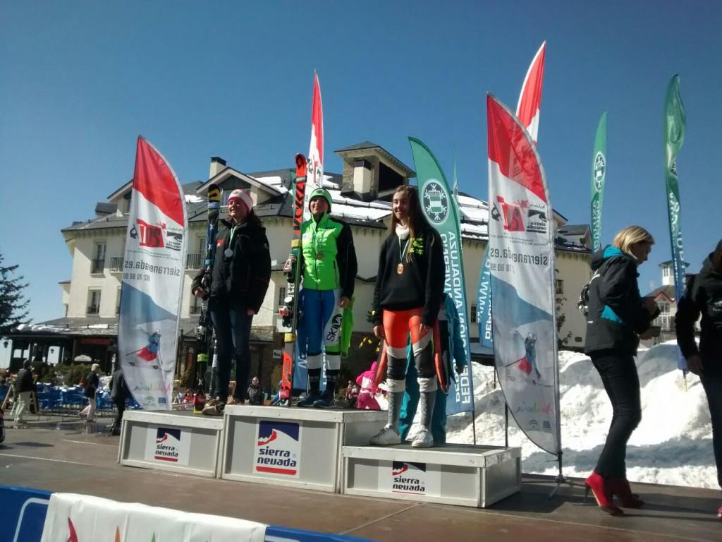 podium SG Arrieta Rodriguez