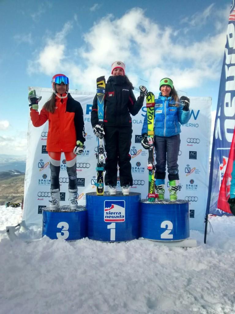 podium SL Arrieta Rodriguez