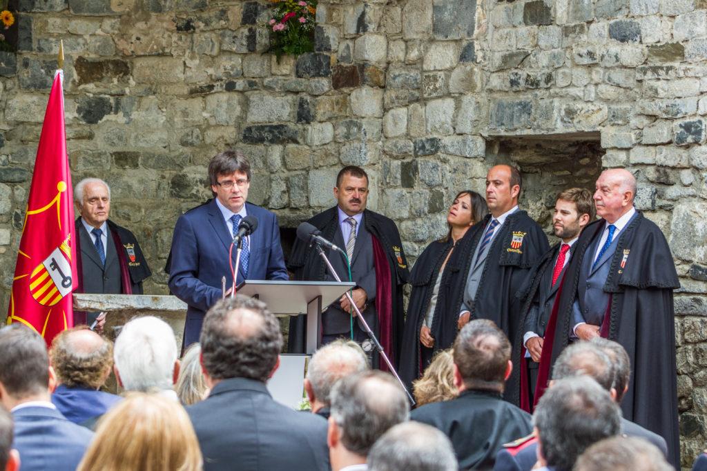 Carles Puigdemonet President de la Generalitat; Hesta d'Aran - Festa d'Aran, Vielha - Val d'Aran; 17/06/2016; Gorka Martinez - gkmph;