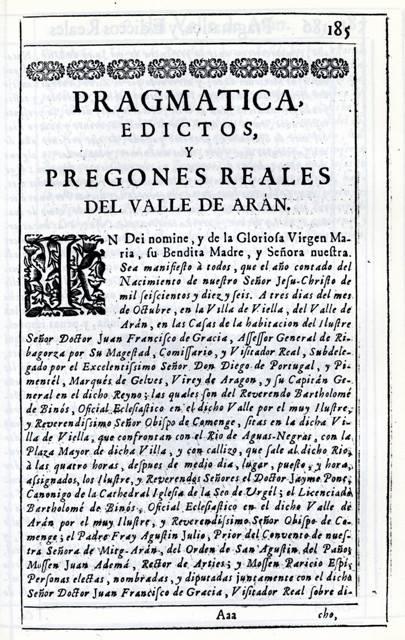 pragmatica e edictes